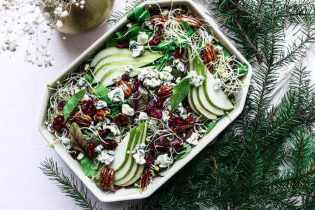 Silmusalaatti resepti - Jouluinen juhlapöydän salaatti