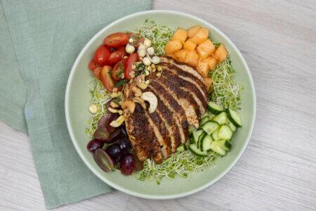 Silmusalaatti resepti - Maukas kanasalaatti