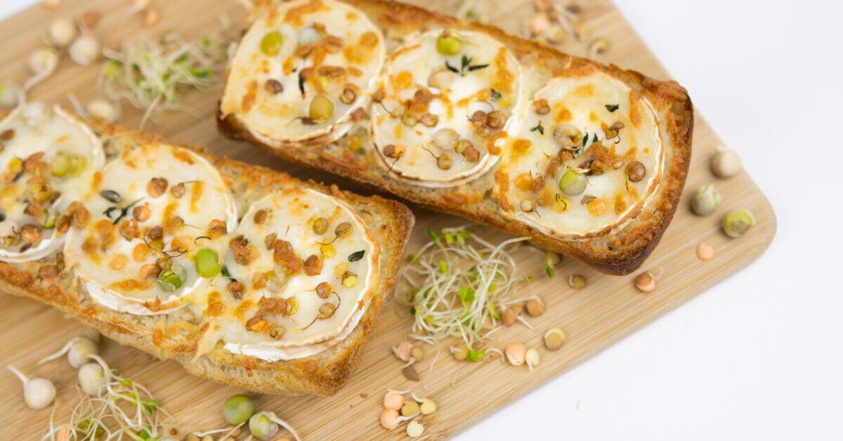 Silmusalaatti resepti - Vuohenjuusto-bruschetta
